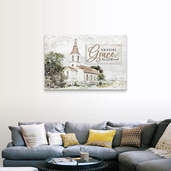 Amazing Grace Canvas Wall Art Overstock 26477520