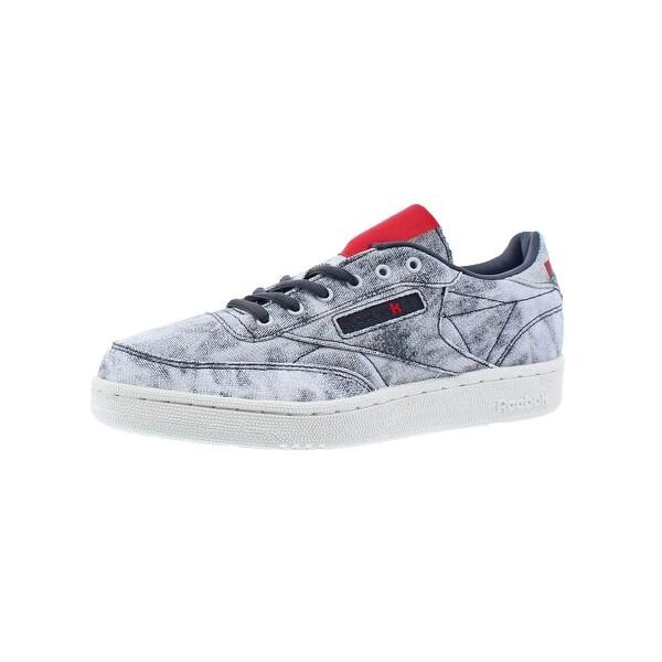 b0345332158 Shop Reebok Boys Club C Kendrick Fashion Sneakers Distressed Low Top ...