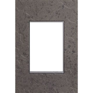 Legrand AWM1G3HFFE1 adorne Hubbardton Forge Metal 1 Gang Wall Plate - 3.5 Inches Wide