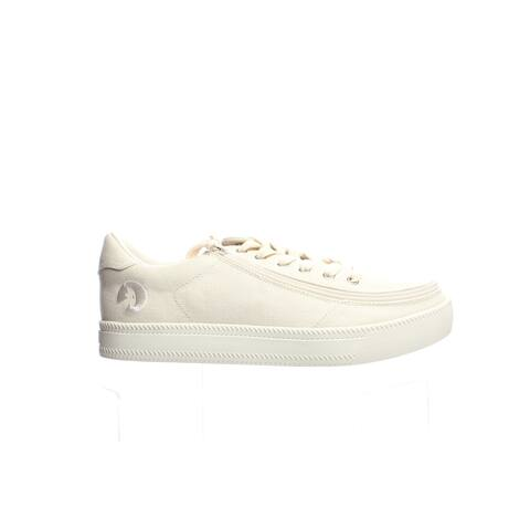 BILLY Mens Classic Lace Low Natural Fashion Sneaker Size 10