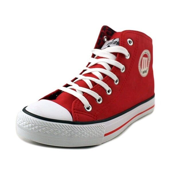 MTNG 13992 Women Synthetic Red Fashion Sneakers