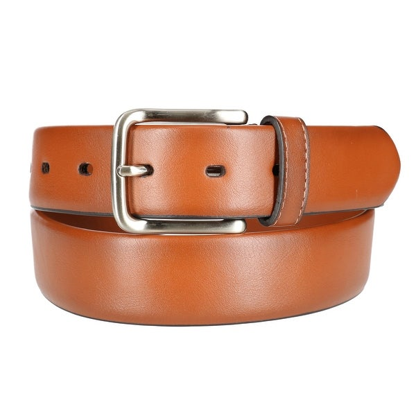 Dockers Men's Faux Leather Stretch Belt