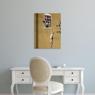 Easy Art Prints 's 'Wall Grafitti' Premium Canvas Art