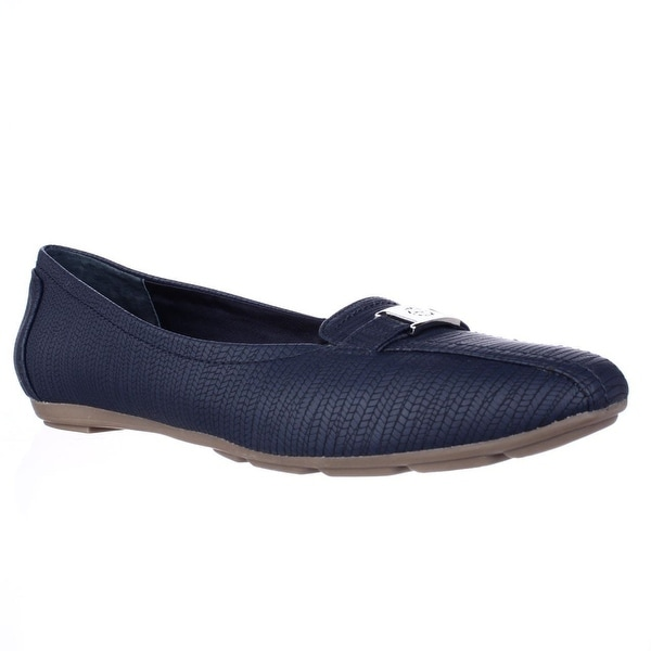 GB35 Jileese Casual Loafer Flats, Midnight