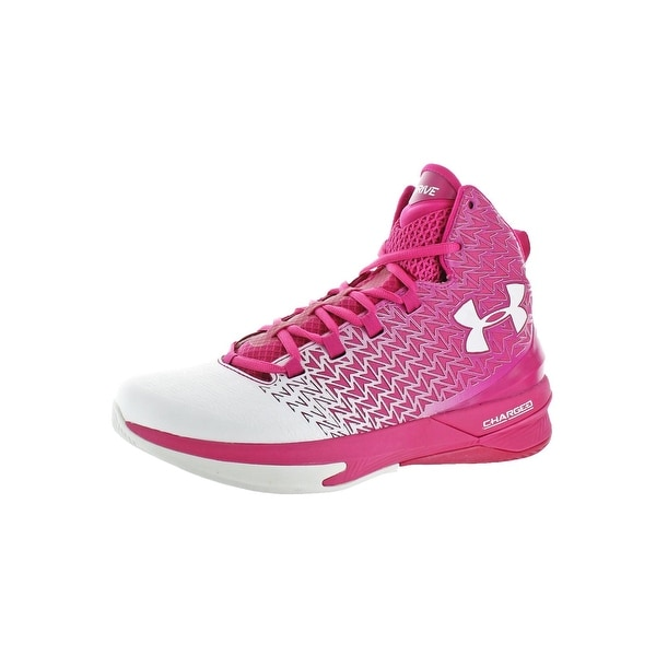 buy popular 3a1ea 11d99 Under Armour Mens Clutchfit Drive 3 Basketball Shoes High Top Charged.  Click to Zoom