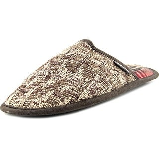 Muk Luks Gavin Men Round Toe Canvas Slipper