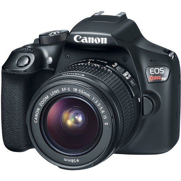 Canon EOS Rebel T6 DSLR Camera with 18-55mm Lens (Intl Model)
