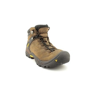 Keen Ketchum Men Round Toe Leather Brown Hiking Boot