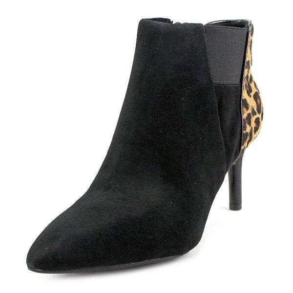 Rockport Total Motion Pointy Toe Layer Bootie 75mm Women Black Bootie