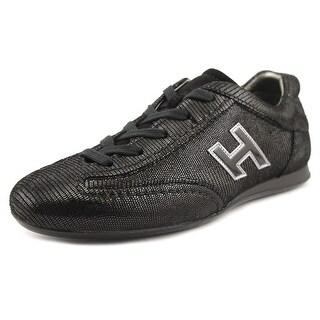 Hogan Olympia H Verniciata Taglia 31 Youth EW Black Fashion Sneakers