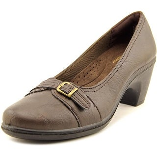 Easy Street Duchess W Round Toe Synthetic Oxford