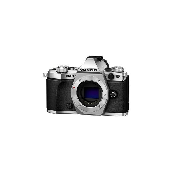 """Olympus V207040SU000 Olympus OM-D E-M5 Mark II 16.1 Megapixel Mirrorless Camera Body Only - Silver - 3"""" Touchscreen LCD -"""