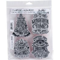 Stampers Anonymous - Tim Holtz - Doodle Greetings #2 Stamps