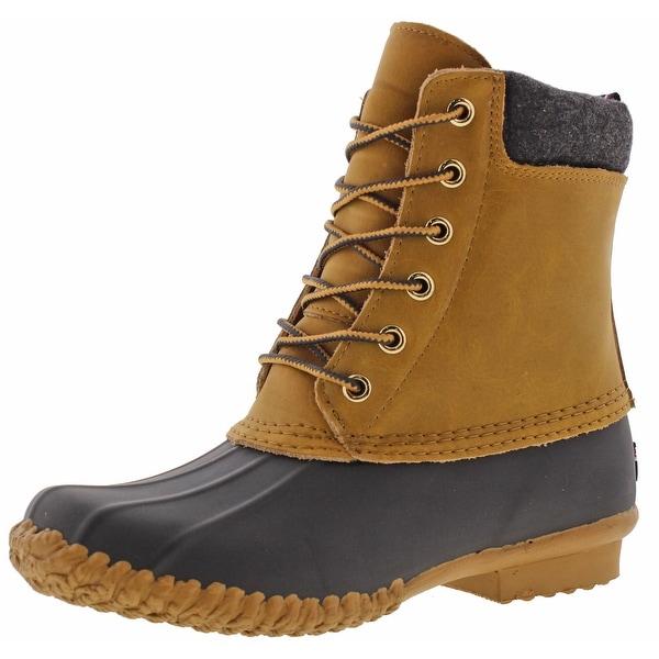 Tommy Hilfiger Russel Women's Ankle Duck Toe Rain Boots