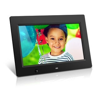 """Aluratek ADMSF310F Aluratek 10 inch Digital Photo Frame with Motion Sensor and 4GB Built-in Memory - 10"" LCD Digital Frame"