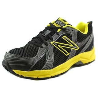 New Balance KJ554 Youth W Round Toe Synthetic Black Walking Shoe