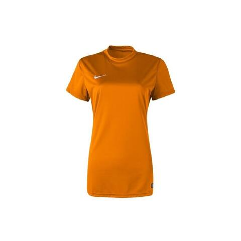 Nike Women's Tiempo II Jersey T-Shirt Orange