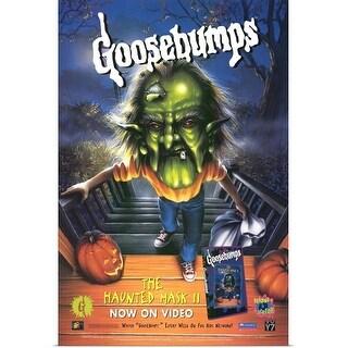 """Goosebumps The Haunted Mask 2 (1997)"" Poster Print"