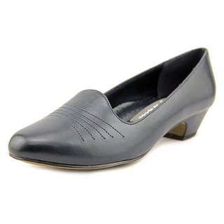 Easy Street Grace WW Round Toe Synthetic Loafer
