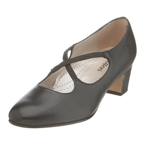 Trotters Womens Jamie Closed Toe Ankle Strap Mary Jane Pumps