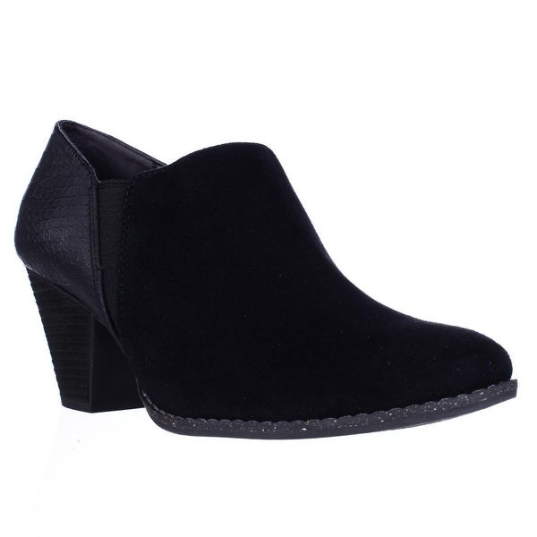 Dr. Scholls Charlie Casual Slip On Ankle Booties, Black