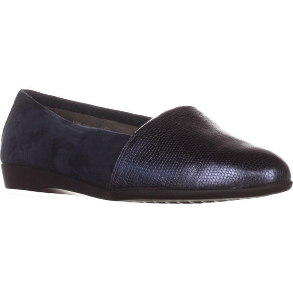 Aerosoles Trend Setter Slip-On Loafers, Navy Combo - 8 us