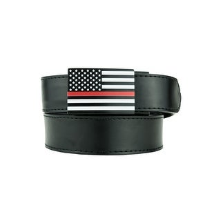 Nexbelt Thin Red Line Series USA Classic with Black Strap Golf Belt