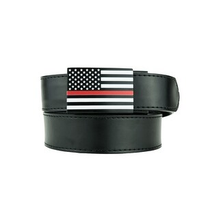 Nexbelt Thin Red Line Series USA Classic with Black Strap Golf Belt