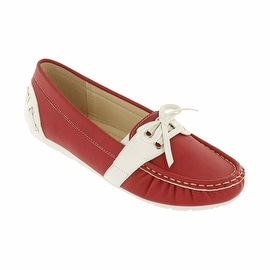Red Circle Footwear 'Panama' Loafer with Stiching