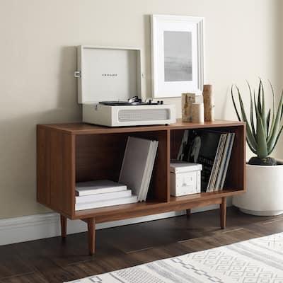 "Liam Medium Record Storage Console Cabinet - 22.25""H x 40""W x 15.75""D"