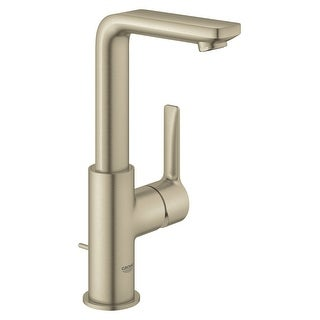 Grohe 23 825 A  Lineare 1.2 GPM Deck Mounted L-Size Bathroom Faucet with Pop-Up Drain Assembly