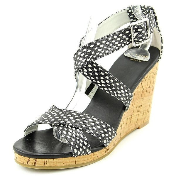 Cole Haan Womens Jillian Wedge Open Toe Casual Platform Sandals