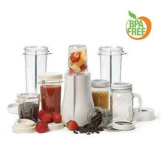 Tribest PB-350XL-A Mason Jar Personal Blender XL 120V/60Hz - White