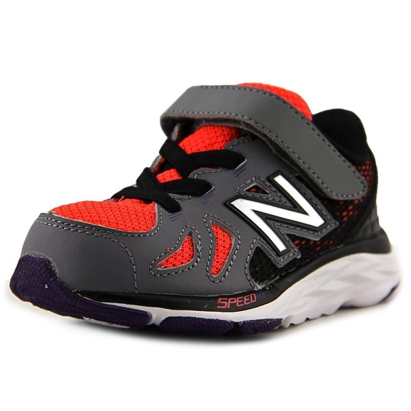 New Balance KV790 Toddler  Round Toe Leather Gray Sneakers
