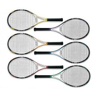 Olympia Sports 25 in. MAC-T Motion Partner Racquets, Set of 6