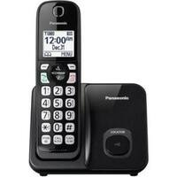 Panasonic Kx-Tgd510b Expandable Cordless Phone With Call Block - 1 Handset - Black