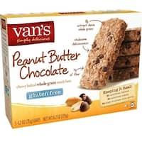 Van's Natural Foods - Gluten Free Peanut Butter Chocolate Snack Bar ( 6 - 1.2 oz bars)
