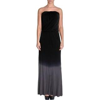 Young Fabulous & Broke Womens Modal Strapless Maxi Dress