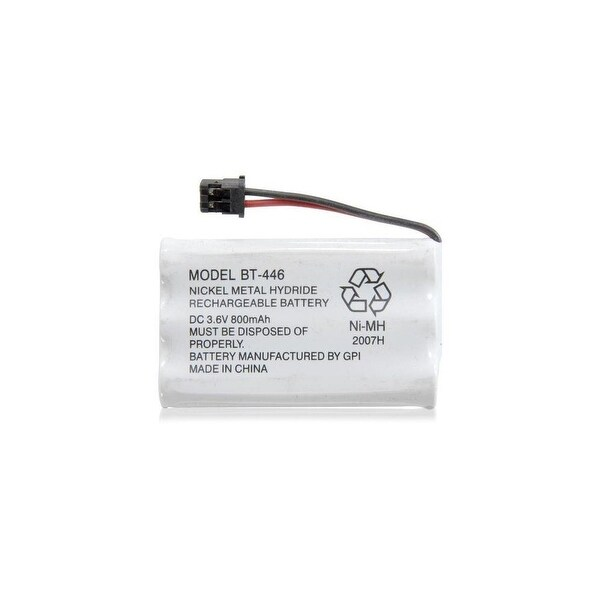 Replacement Battery For Uniden WXI477 Cordless Phones - BT446 (800mAh, 3.6V, Ni-MH)
