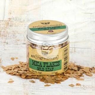 Gold Leaf - Finnabair Art Ingredients Mica Flakes 1oz