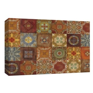 """PTM Images 9-154078  PTM Canvas Collection 8"""" x 10"""" - """"Gypsy's Wall"""" Giclee Patterns and Designs Art Print on Canvas"""