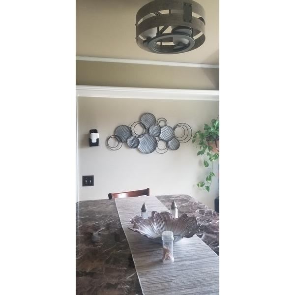 Stratton Home Decor Galvanized Plates Wall Decor On Sale Overstock 18537124