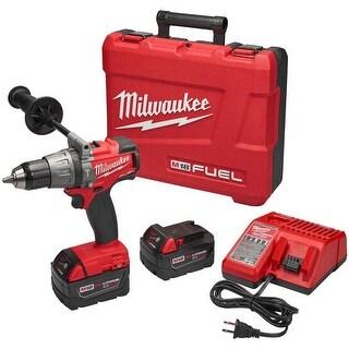 "Milwaukee M18 Fuel 1/2"" Hammer Drill/Driver Kit"