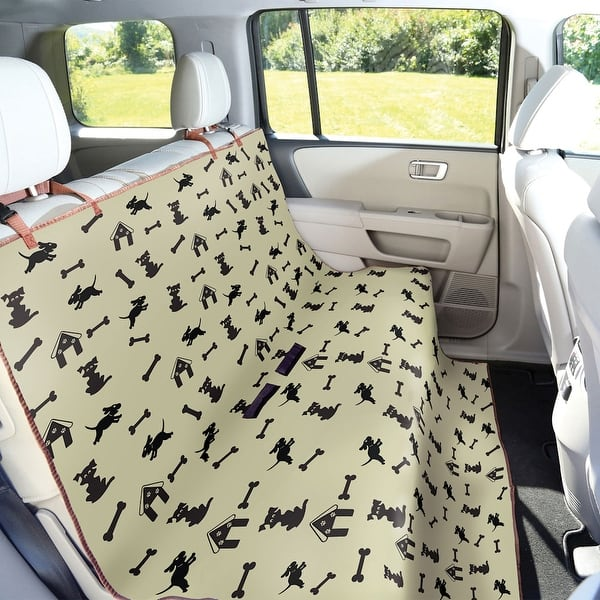Brilliant Shop Waterproof Pet Seat Cover Dog Print For Car Truck Caraccident5 Cool Chair Designs And Ideas Caraccident5Info