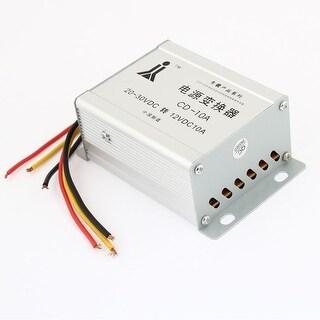 Unique Bargains DC 20-30V to DC 12V 10A Inverter Adapter Power Transformer Convertor for Auto