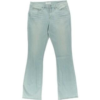 Yummie Womens Bootcut Jeans Denim Stretch