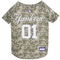 MLB New York Yankees Camo Jersey