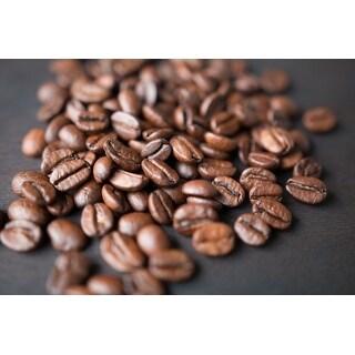 Coffee Beans Photograph Wall Art Canvas