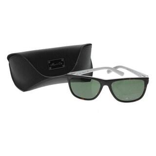 Kenneth Cole New York Womens Tortoise UV Protection Wayfarer Sunglasses