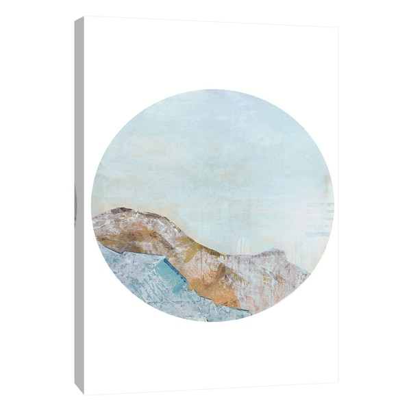 "PTM Images 9-108519 PTM Canvas Collection 10"" x 8"" - ""Pinnacle 3"" Giclee Mountains Art Print on Canvas"